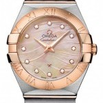 Omega 12320276057002  Constellation Brushed 27mm Ladies