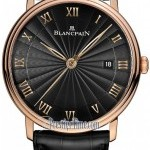 Blancpain 6651-3630-55b  Villeret Ultra Slim Seconds  Date A