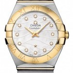 Omega 12320276055005  Constellation Brushed 27mm Ladies