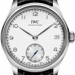 IWC IW510203  Portuguese Hand Wound Eight Days Mens Wa