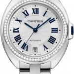 Cartier WJCL0007  Cle De  Automatic 35mm Ladies Watch