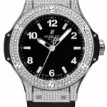 Hublot 361sx1270rx1704  Big Bang Quartz Steel 38mm Ladies