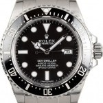 Rolex PreOwned  Sea-Dweller 116600 Ceramic Black Bezel