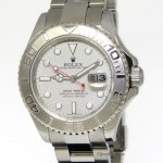 Rolex YachtMaster Platinum  Steel Mens Automatic Watch
