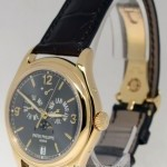 Patek Philippe Mens Annual Calendar Moon 18k Gold Watch BoxPapers