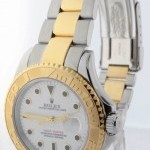 Rolex Mens Yacht-Master 18k Yellow Gold  Stainless Steel