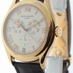 Patek Philippe Annual Calendar 5035 18k Rose Gold Mens Watch Box