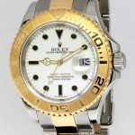 Rolex Yacht-Master 18k Yellow Gold Stainless Steel Mens