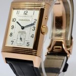 Jaeger-LeCoultre Jaeger LeCoultre Reverso Duo Dial 18k Rose Gold Me
