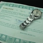 Rolex Oyster Date 6694 Original Silver Dial With Paper