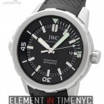 IWC Stainless Steel Black Dial 42mm