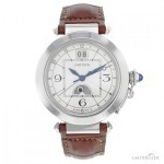 Cartier Pasha XL W3109255 Stainless Steel Mens Watch