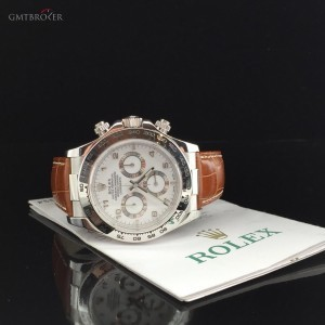 Rolex DAYTONA WHITE GOLD 116519 73159