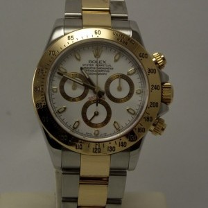 Rolex DAYTONA STEEL AND GOLD ref.116523