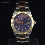 Rolex DATEJUST THUNDERBIRD ACCIAO ORO  BLUE DIAL