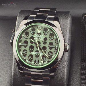 Rolex MILGAUSS V BLACK-OUT CUSTOMIZATION