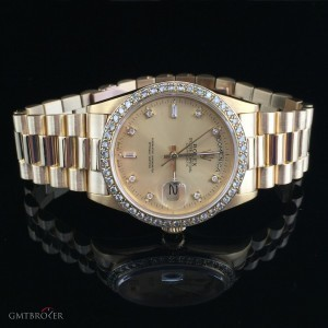 Rolex PRESIDENT DAY DATE DIAMONDS 18038 78499