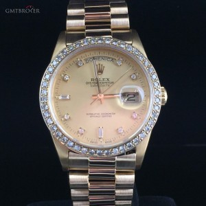 Rolex PRESIDENT DAY DATE DIAMONDS 18038 78503