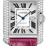 Cartier Wt100018  Tank Anglaise Medium Ladies Watch