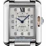 Cartier Wt100025  Tank Anglaise Medium Ladies Watch