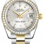 Rolex 178383 Silver Index Oyster  Datejust 31mm Stainles