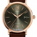 IWC IW356511  Portofino Automatic Mens Watch