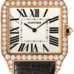 Cartier Wh100751  Santos Dumont Mens Watch