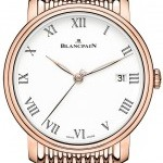 Blancpain 6630-3631-mmb  Villeret 8 Day Automatic 42mm Mens