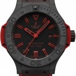 Hublot 322ci1130grabr10  Big Bang King All Black Red 48mm