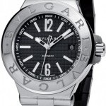 Bulgari Dg40bssd  Diagono Automatic 40mm Mens Watch