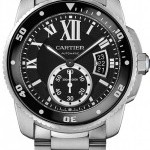 Cartier W7100057  Calibre de  Diver Mens Watch