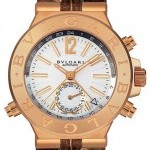 Bulgari Dgp40c6gldgmt  Diagono Automatic GMT 40mm Mens Wat