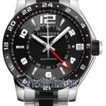 Longines L36694567  Admiral GMT Mens Watch