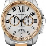 Cartier W7100042  Calibre de  Chronograph Mens Watch