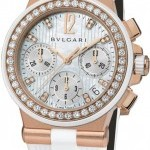 Bulgari Dgp35wgdwvdch8  Diagono Chronograph 35mm Ladies Wa