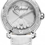 Chopard 288525-3003  Happy Sport Round Quartz 42mm Ladies