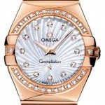 Omega 12355276055005  Constellation  Polished 27mm Ladie