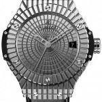 Hublot 346sx0870vr  Big Bang Steel Caviar 41mm Mens Watch