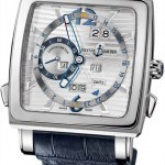 Ulysse Nardin 320-9091  Quadrato Dual Time Perpetual Mens Watch