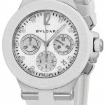 Bulgari Dg40wswvdch11  Diagono Chronograph 40mm Ladies Wat