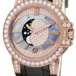 Harry Winston Oceqmp36rr007  Ocean Lady Moon Phase 36mm Ladies W