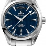 Omega 23110422203001  Aqua Terra 150m Co-Axial Day Date