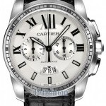 Cartier W7100046  Calibre de  Chronograph Mens Watch