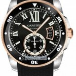 Cartier W7100055  Calibre de  Diver Mens Watch