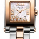 Chopard 278498-9003  Happy Sport Square Quartz Medium Ladi