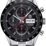 TAG Heuer CV201AHBA0725  Carrera Day Date Automatic Chronogr