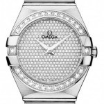 Omega 12355276099001  Constellation Brushed 27mm Ladies