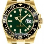 Rolex 116718LN Green  GMT Master II Mens Watch
