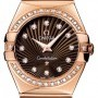 Omega 12355276063002  Constellation  Polished 27mm Ladie