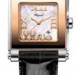 Chopard 278497-9003  Happy Sport Square Quartz Medium Ladi